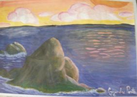 Rounded Rock by Ballerinatwin3