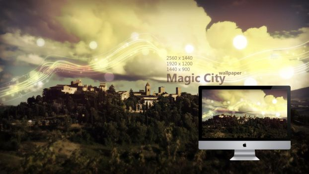Magic City Wallpaper by Martz90