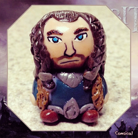 Thorin Clay Figurine by Comsical