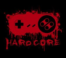 Hardcore SNES  T-Shirt Concept by bluespartan10