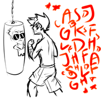 Karkat: Take out your anger on Dave. by ChainedMace