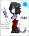 .. Aiden - It's a shame... .. by TriereikaiInuyasha