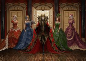 Dark lord in the ballroom. by Irulana