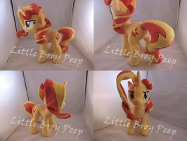 MLP Sunset Shimmer Plush by Little-Broy-Peep