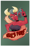 Hell's Fury by Lazereyes