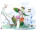 Witch of Frog Ponds by Paper-Star-Zombie