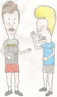 Beavis and Butt-head by PsychoMMantis
