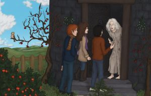 HP art project - DH chapter 20 by Loony-Lucy