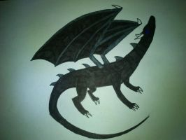ender dragon my style by cynderplayer