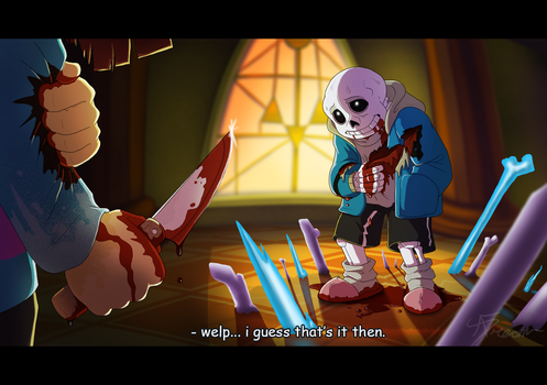 *UNDERTALE Spoilers*  who's the real monster. by AbsoluteDream