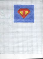 Superman Symbol with background by Lirtista