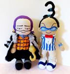 One Piece Plushies by Squisherific