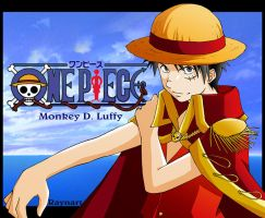 Fan Art One Piece - Luffy by Raynart-Tradnor