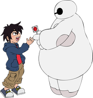 Hiro and Baymax by Dezu-the-Shaman