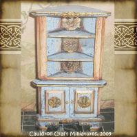 Dollhouse Medieval Cabinet by grimdeva