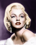 The Blonde Bombshell by TigerK0690