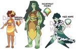 Nature Gem Adopts: (CLOSED) by Deer-Head