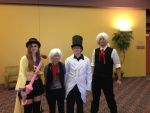D.Gray-Man cosplay - Earls and Allens by AlyssaFoxAH