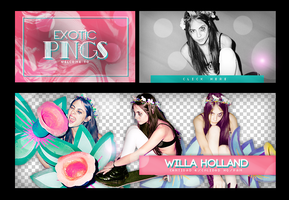 Pack Png 742 // Willa Holland. by ExoticPngs