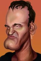 Quentin Tarantino by jEROMEaNIMATIONS