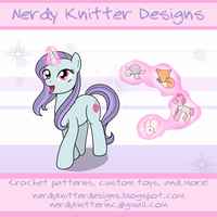 Commission: Nerdy Knitter Banner by drawponies