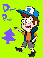 Day 1 - Dipper Pines by uhnevermind