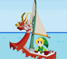 Link and KORL_animation by StarValerian