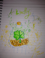 I Am Lucky Today by PandaRaRawr