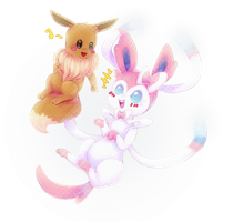 shine bright like a sylveon by Viki-U