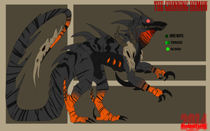 :The Grinning Demon: Reference Sheet by DeadpoolFan116