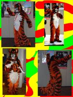 marc andre - crocheted fursuit by marcsandroid