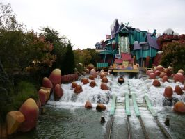 Dudley Do-Right Ripsaw Falls by FairieGoodMother