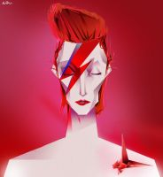 ziggy stardust by Erikeh