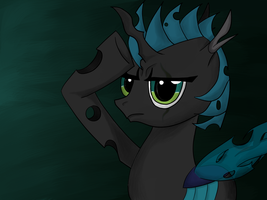 Changeling Dark Luck in Sai by Lyricjam