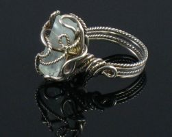 Aquamarine Ice Ring2 by AniqueDesigns