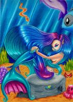 Mermaid by TheTweedleTwins