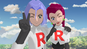 MMD Team Rocket DL by CherryBeam