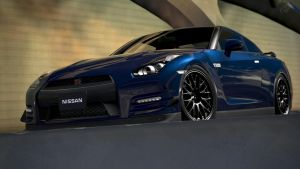 Nissan GT-R Black Edition (Gran Turismo 6) by Vertualissimo