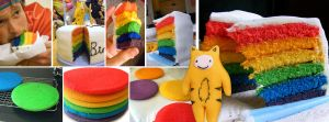 Rainbow Cake with Tiger-Boy by InvisibleSnow
