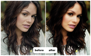 rachel bilson make over by miseryloneliness