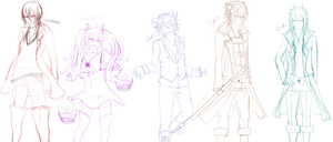 Wips Wips Character Concepts by J3Mimi