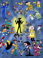 Cartoon Network Poster by WhiteMageOfTermina