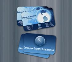 CSI businesscard by chuletz