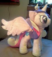 Commission: Princess Cadance w/ Poseable wings by StarletShine