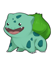 Chibi Bulbasaur by myooomy