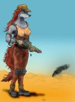 She's Further Outback by Mars-Walker