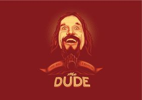 THE DUDE vector wallpaper by depot-hdm