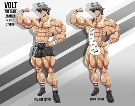 Volt - The Gainz Brother 2017 by OkiSuji