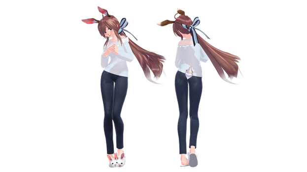 TDA Self Model by TheChibiYandere