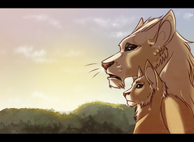 EVERYTHING THE LIGHT TOUCHES IS OUR KINGDOM by Ei-fay